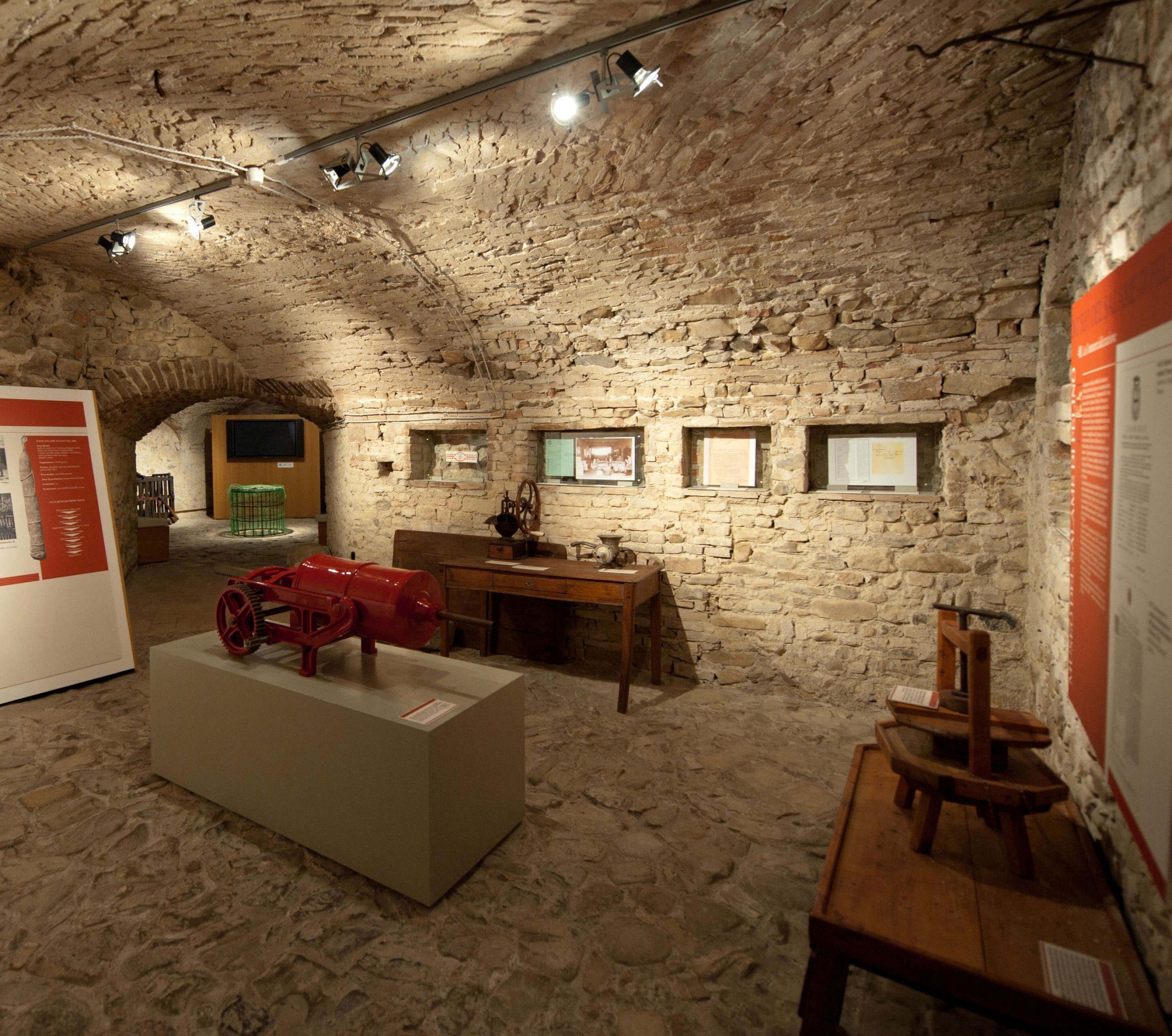 Salami Museum in Felino