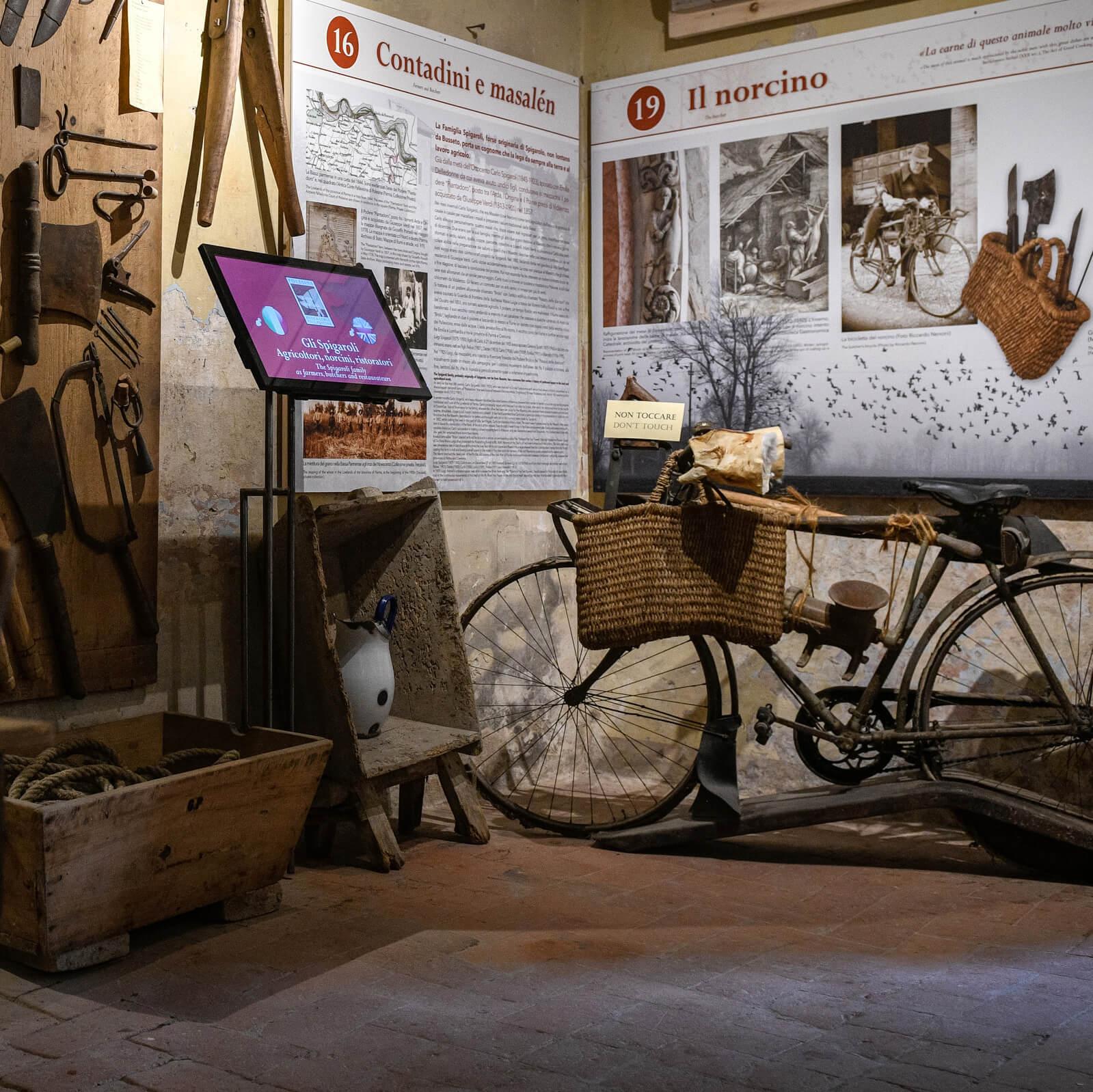 Museum of Culatello di Zibello in Polesine Parmense
