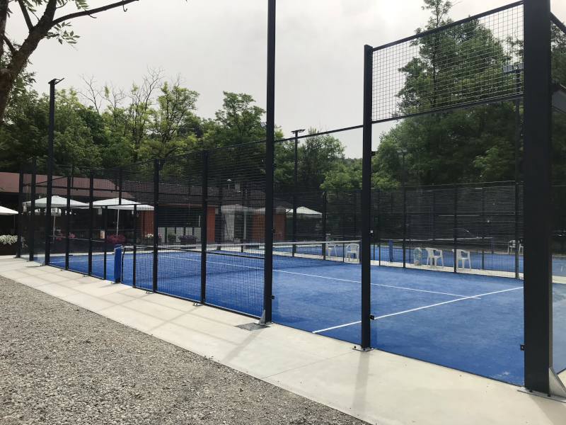 Paddle tennis court at the T-Club of Tabiano Terme