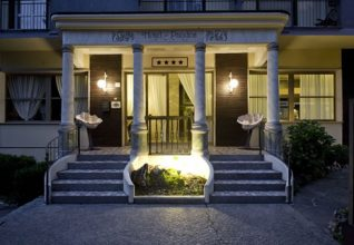 Entrata Hotel Pandos Tabiano Terme