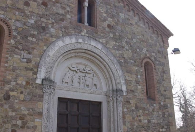 Facciata Chiesa San Gervasio e Protasio Tabiano