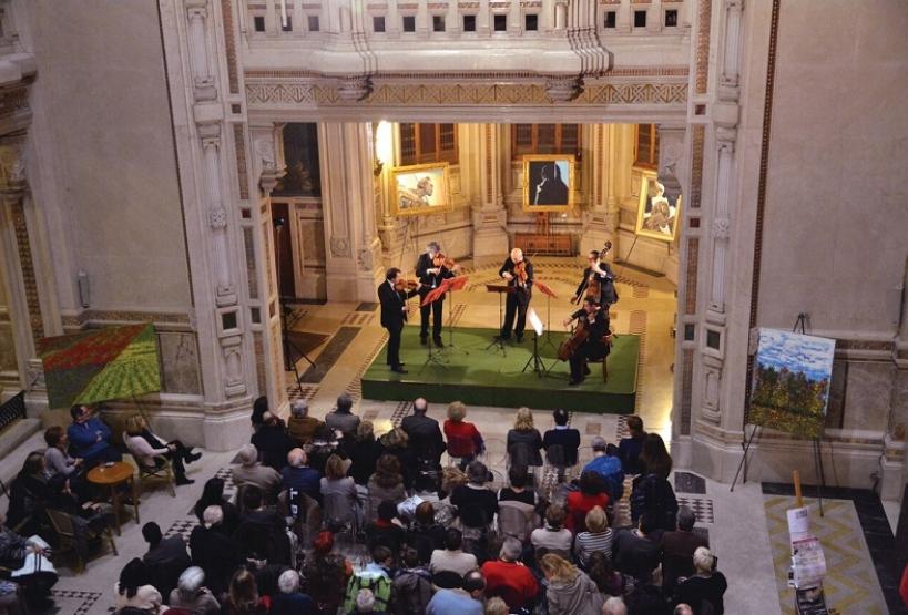 Event inside Berzieri Spa