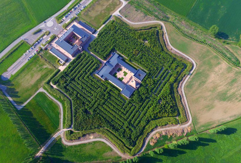 Labirinto della Masone visto dall'alto
