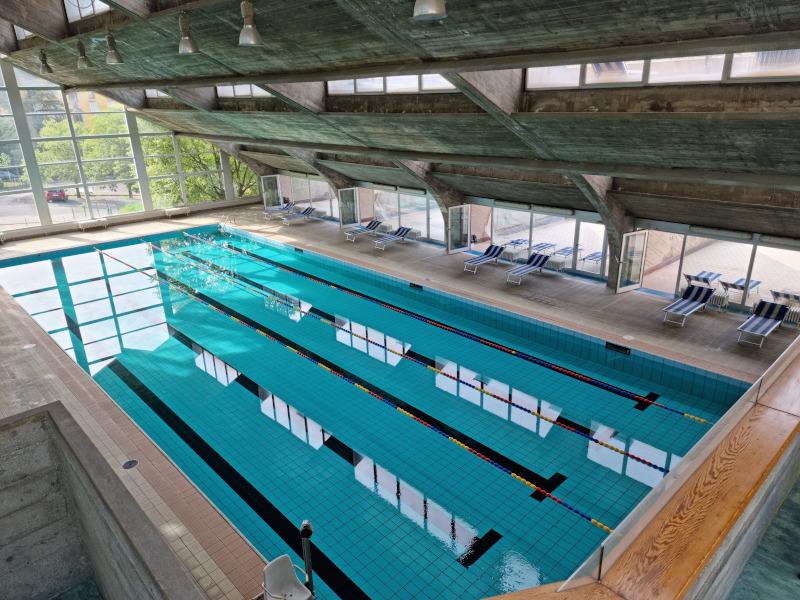 Indoor swimming pool Salsomaggiore Terme
